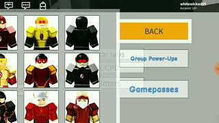 The flash CW heroes character review in Roblox