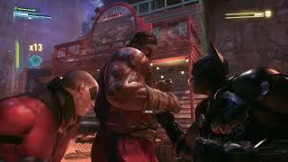 Batman Arkham Knight: Batman & Robin Vs. Goliath (New Game+ aka No incoming strike warnings)