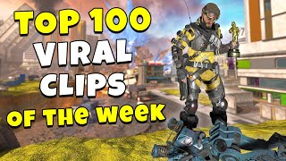 TOP 100 VIRAL CLIPS of the WEEK! - NEW Apex Legends Funny & Epic Moments