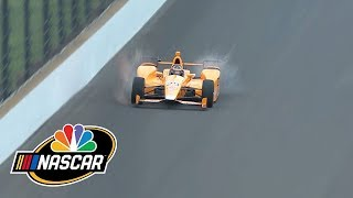 Fernando Alonso kills two birds during Indy 500 practice