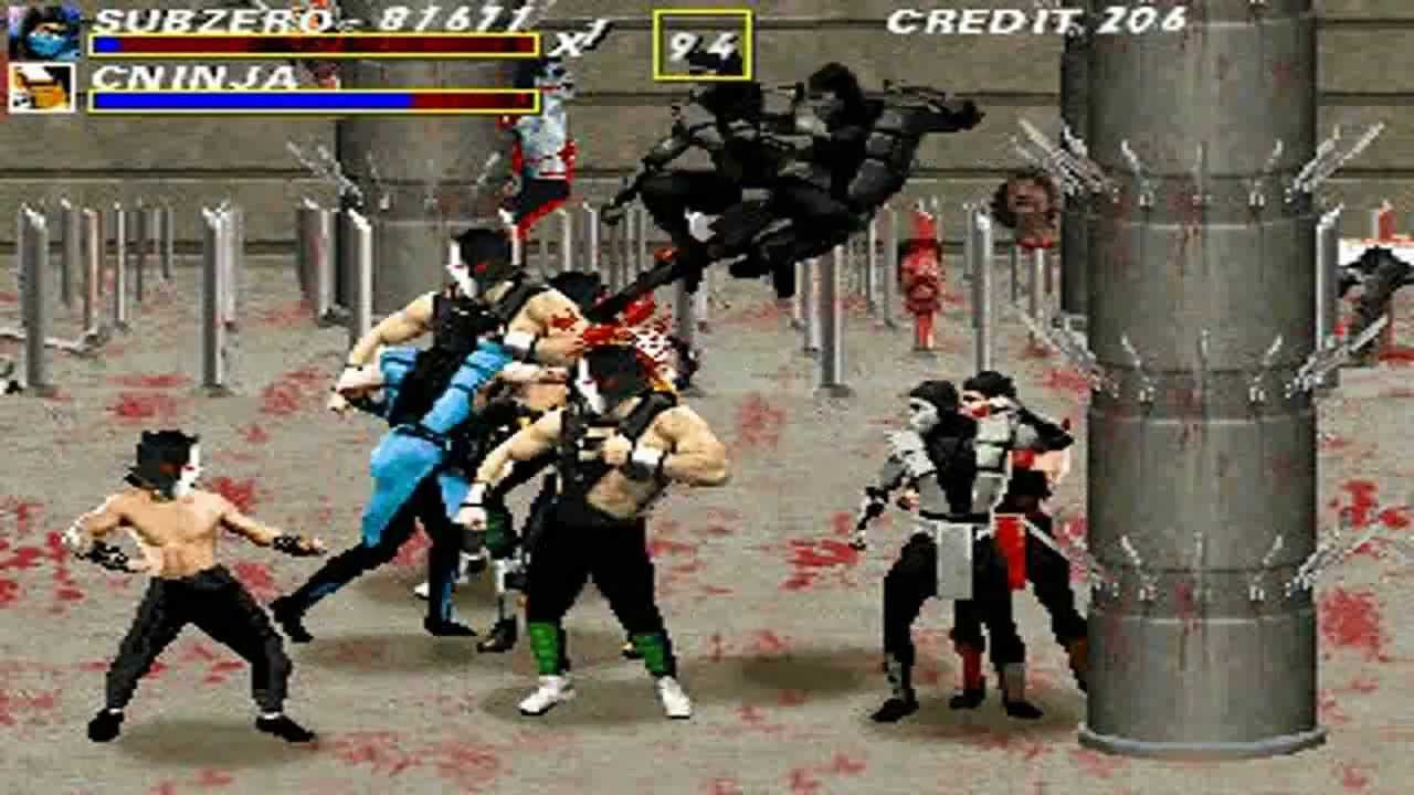 Mortal Kombat Complete OPENBOR 720P HD Playthrough by AmitDabydeen