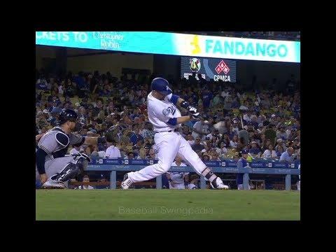 Brian Dozier Home Run Swing Slow Motion 2018-4(#17)