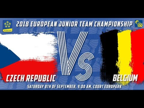 Czech Republic vs Belgium - Day 2 - 2018 European Jnr. Team C'ships