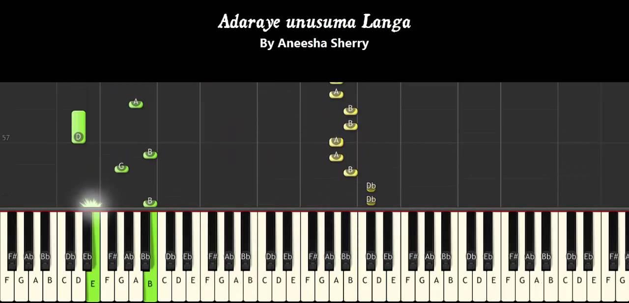 Adaraye unusuma langa somathilaka jayamaha piano tutorials adaraye unusuma langa somathilaka jayamaha piano tutorials chords notations cover hexwebz Choice Image