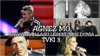 AGNEZ MO NYANYIKAN LAGU CELINE DION, FRANK SINATRA, DLL || TVKI Season 3 Blind Audition