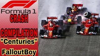 Formula 1 Crash Compilation (Centuries) thumbnail