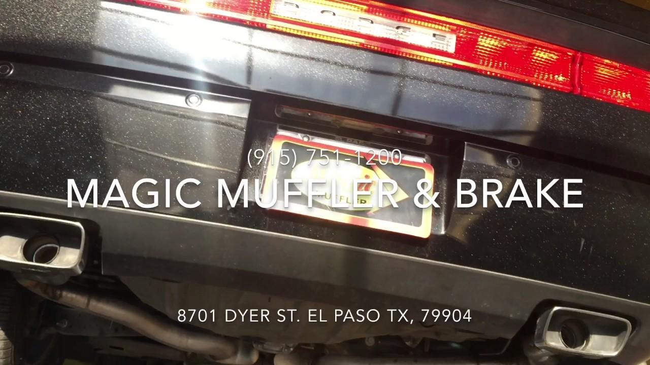 2014 Dodge Challenger W Magnaflow Mufflers Youtube
