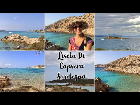 TUTTE LE MERAVIGLIOSE SPIAGGE DELL'ISOLA DI CAPRERA in una giornata - VLOG SARDEGNA Sardinia Beaches