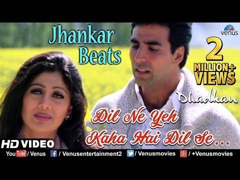 Dil Ne Yeh Kaha - JHANKAR BEATS | Dhadkan | Akshay & Shilpa Shetty | 90's Bollywood Romantic Song