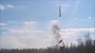 Неудачный пуск ракеты в России (учения)- дебилы чему вы радуйтесь - КОГО ПОНАБРАЛИ?