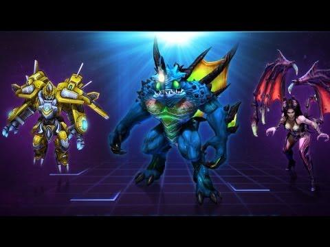 видео: Обновлённые heroes of the storm и куча раков...