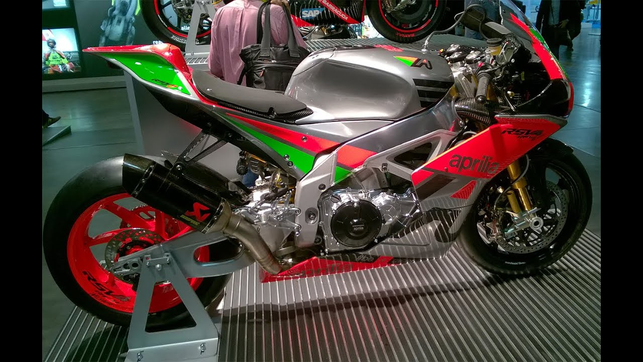"eicma 2015 : video aprilia rsv4 r-fw ""misano"" 2016 - youtube"