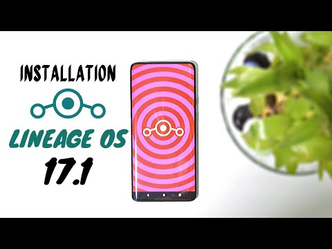 Installation Guide Official Lineage OS 17.1 Android 10 Onelpus 7 Series