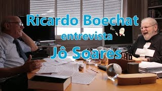 Ricardo Boechat entrevista Jô Soares