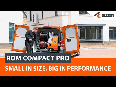 ROM COMPACT PRO Sewer Cleaning Machine | Sewer Jetter Drain Cleaner