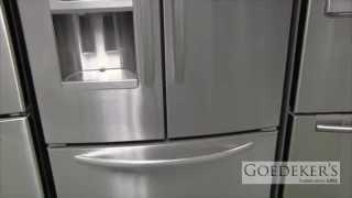 kitchenaid 5 door refrigerator multiple door goedekers kitchenaid frenchdoor refrigerator buy 258 cu ft 5door french door
