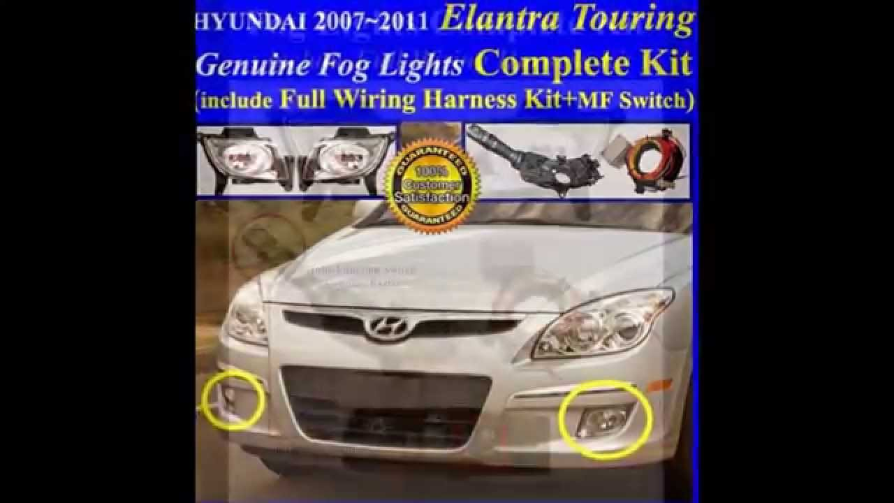 2007 2011 hyundai elantra turing fog light lamp complete. Black Bedroom Furniture Sets. Home Design Ideas