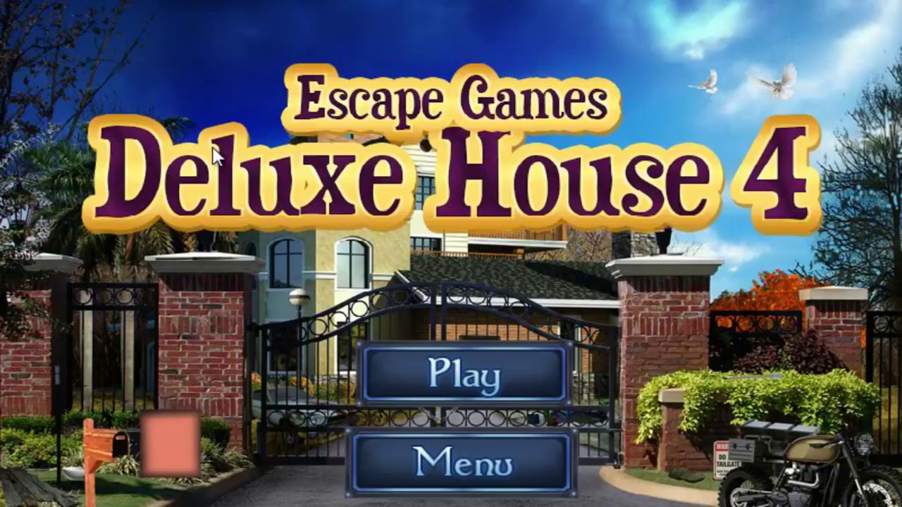 Escape Games Deluxe House 4 Walkthrough Youtube