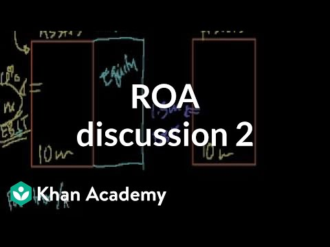 ROA discussion 2 | Stocks and bonds | Finance & Capital Markets | Khan Academy