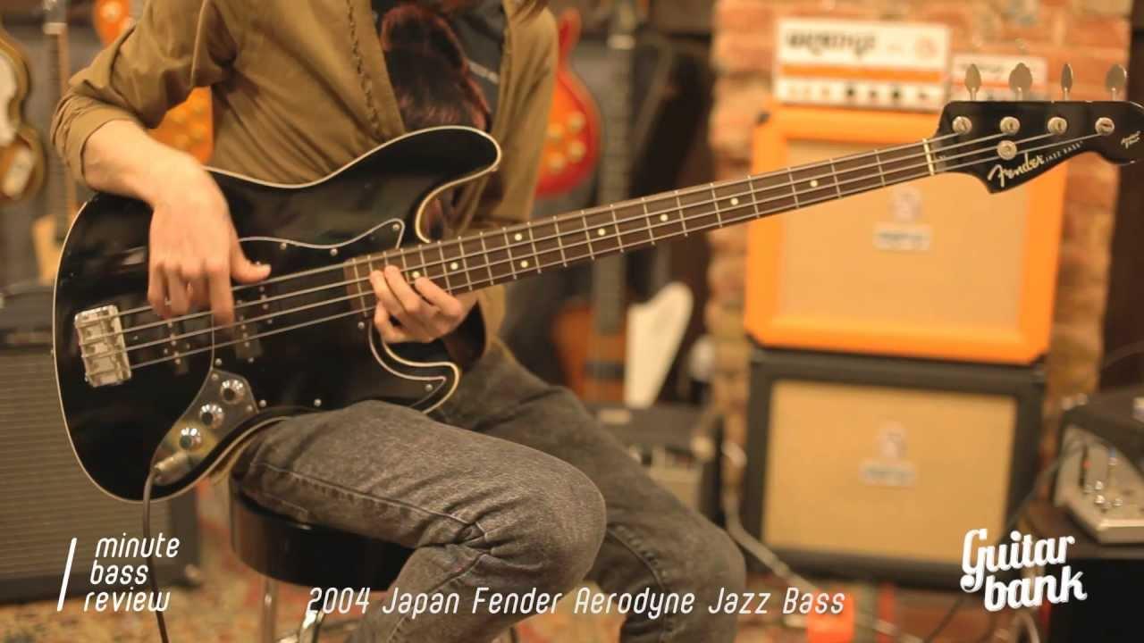 2004 Japan Fender Aerodyne Jazz Bass One Minute Review