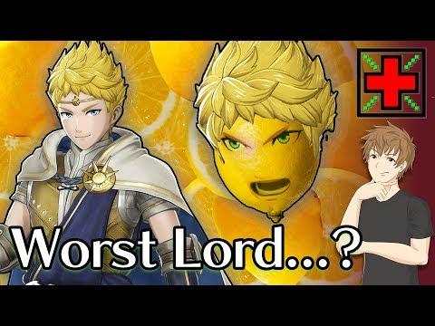 Rowan: The Worst Fire Emblem Lord? - MaxHP