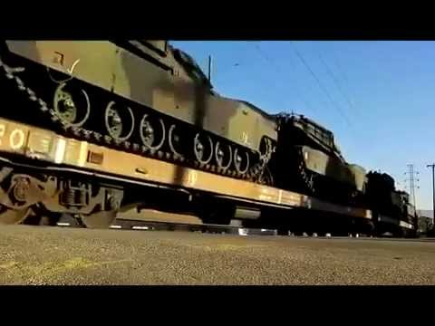 Fema Un Trains W Tanks Notice No Desert Camo Color Either