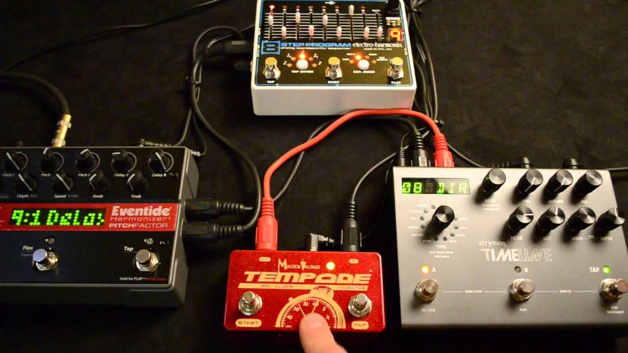 Molten Voltage™  :  Support for PedalBoard MIDI Devices, Guitar