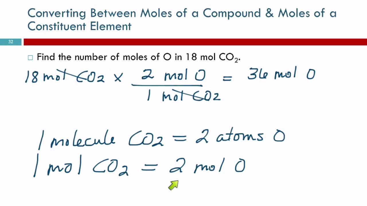6 5 chemical formulas as conversion factors youtube
