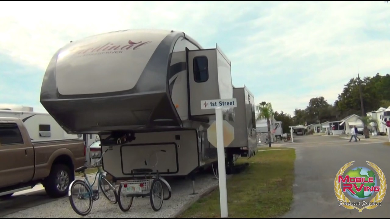 Orchid Lake RV Resort New Port Richey Florida