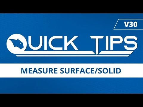 Measure Surface Solid - BobCAD CAM Quick Tip