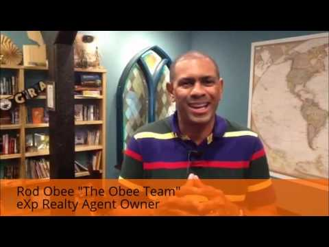"""Rod Obee """"The Obee Team"""" - eXp Realty Agent-Owner Video"""