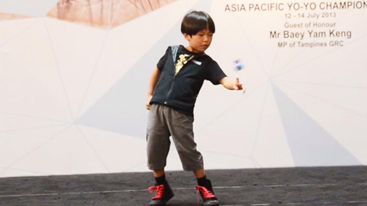 GENIUS Kid Does Amazing Yo-Yo Tricks | Car Drives On Water