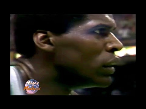Robert Parish Amazing Dunk on Tree Rollins! 1988 Playoffs