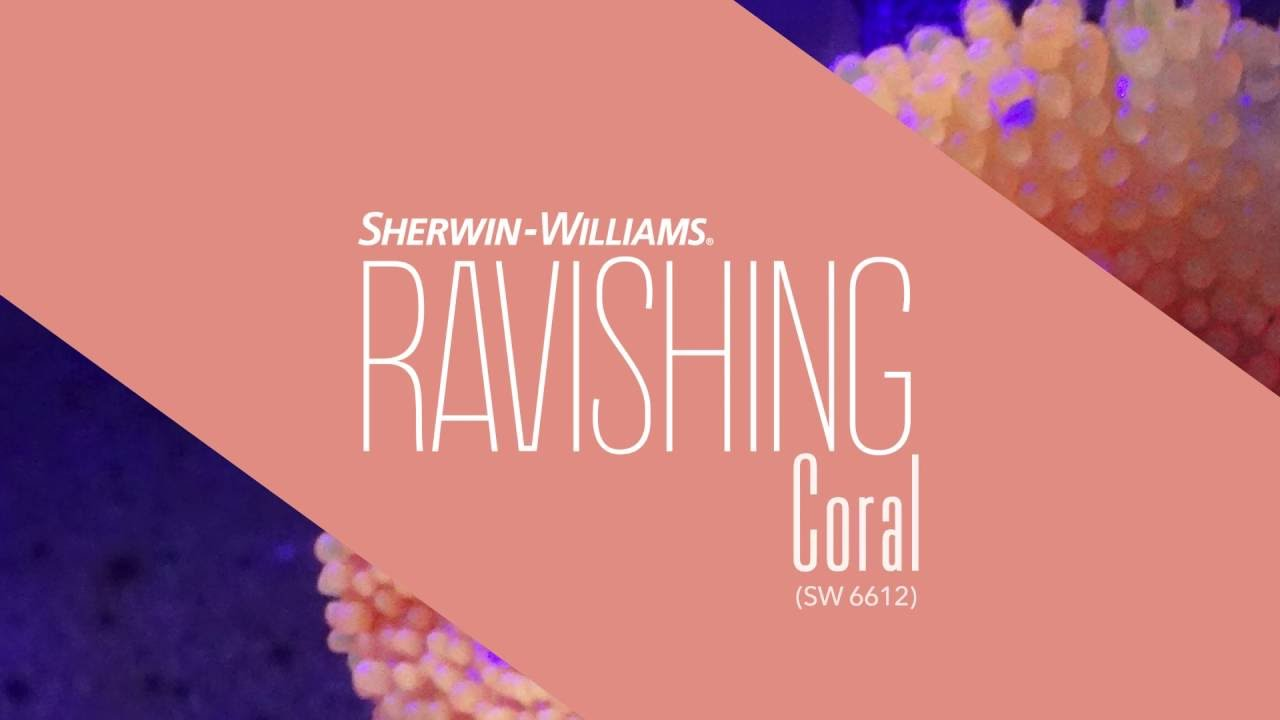 September 2016 Color of the Month: Ravishing Coral - Sherwin ...