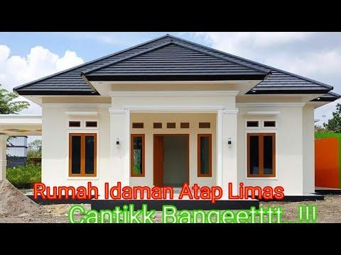 20 Model Rumah Minimalis Dengan Atap Limas - YouTube