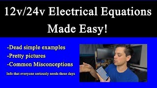 Basic Solar Power Electrical Equations Explained! Beginner Friendly