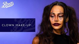 Halloween | Clown Makeup Tutorial | Boots UK