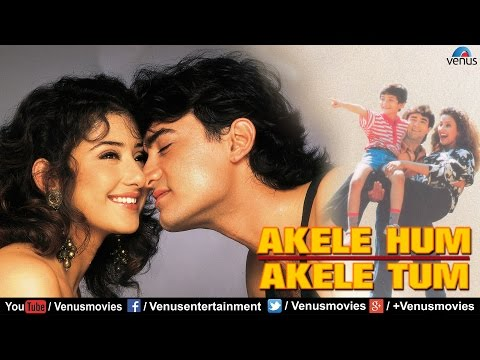 Akele Hum Akele Tum  Full Hindi Movies  Aamir Khan Movies  Latest Bollywood Movies
