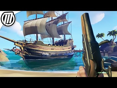 Sea of Thieves : Sailing Pirate Ships with Strangers   Multiplayer Gameplay