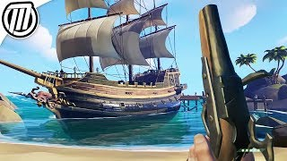 Sea of Thieves : Sailing Pirate Ships with Strangers | Multiplayer Gameplay