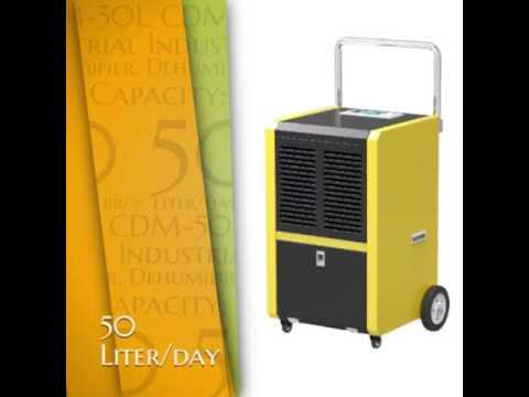CDM-50L industrial dehumidifier in UAE Having capacity 50 liter/day