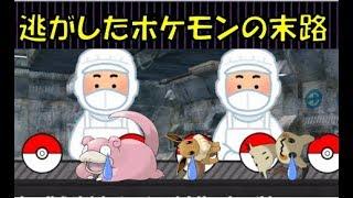 逃がしたポケモン達の末路「ポケモン茶番」 thumbnail