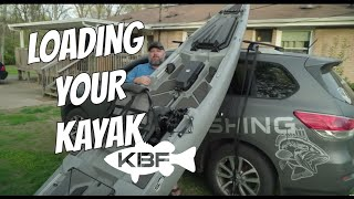 How To Load Your Kayak | Car Top and SUVs