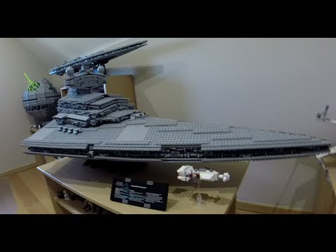 LEGO STAR WARS 10030 UCS IMPERIAL STAR DESTROYER SPEED BUILD