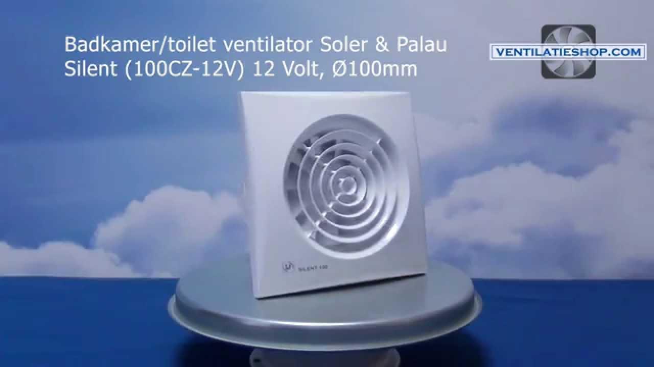 badkamer toilet ventilator soler palau silent 100cz. Black Bedroom Furniture Sets. Home Design Ideas
