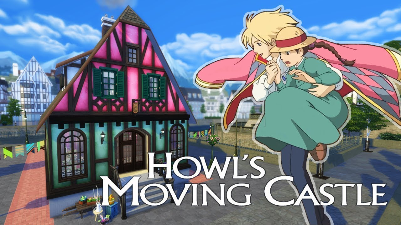 57607bf4d06528 Sophie's Hat Shop 👒 Howl's Moving Castle Sims 4 | Ghibli Inspired Speed  Build | @PenappleYT