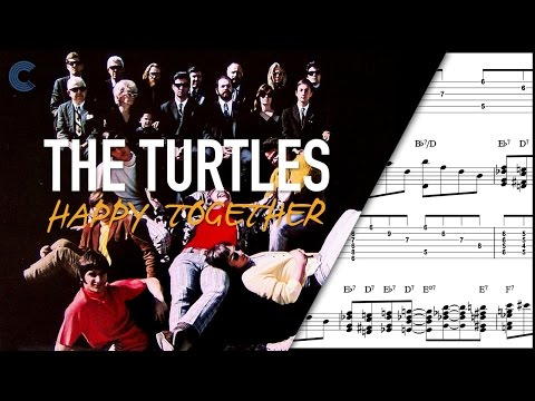 Violin - Happy Together - The Turtles - Sheet Music, Chords, & Vocals