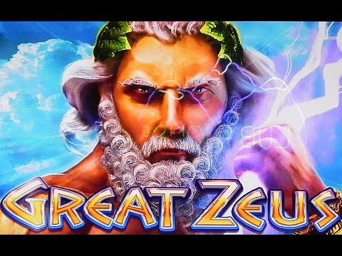 Wms Great Zeus Slot Machine Bonus Youtube