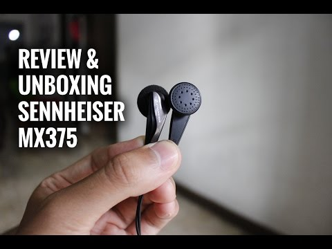 Sennheiser Mx 375 Earphone Review & Unboxing Indonesia