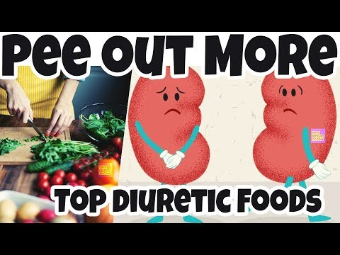 CureCKD.com PEE OUT More Toxins & IMPROVE Kidney Health With Top Natural DIURETIC FOODS